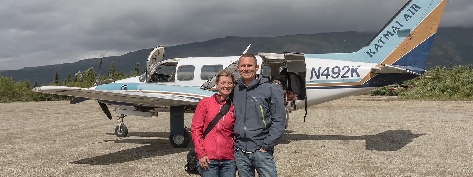 Boarding a Bush Plane to Katmai, Alaska