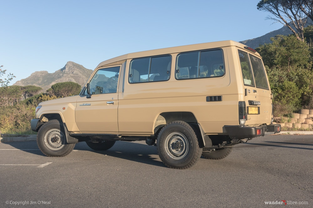 Side Exterior, Pre-Build, Toyota Land Cruiser 78 Series Troop Carrier