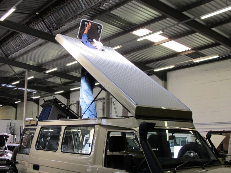 Land Cruiser Troopy Camper Conversion: Part 3 of 4