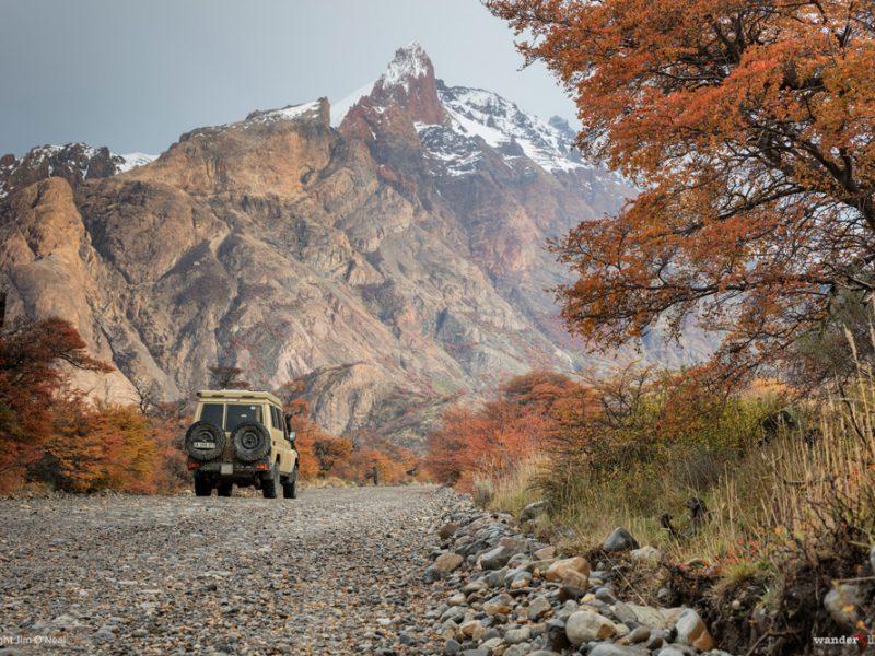 The Road to Lago del Desierto
