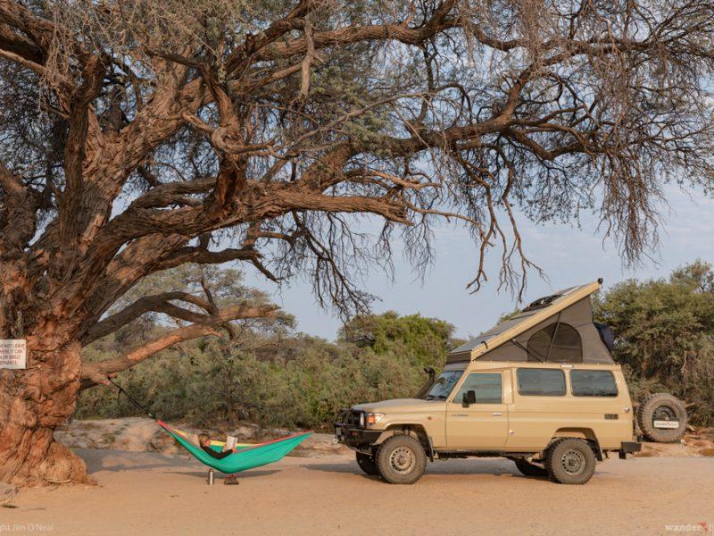 Why We Wander: Desert Camp, Hoarasib River, Namibia